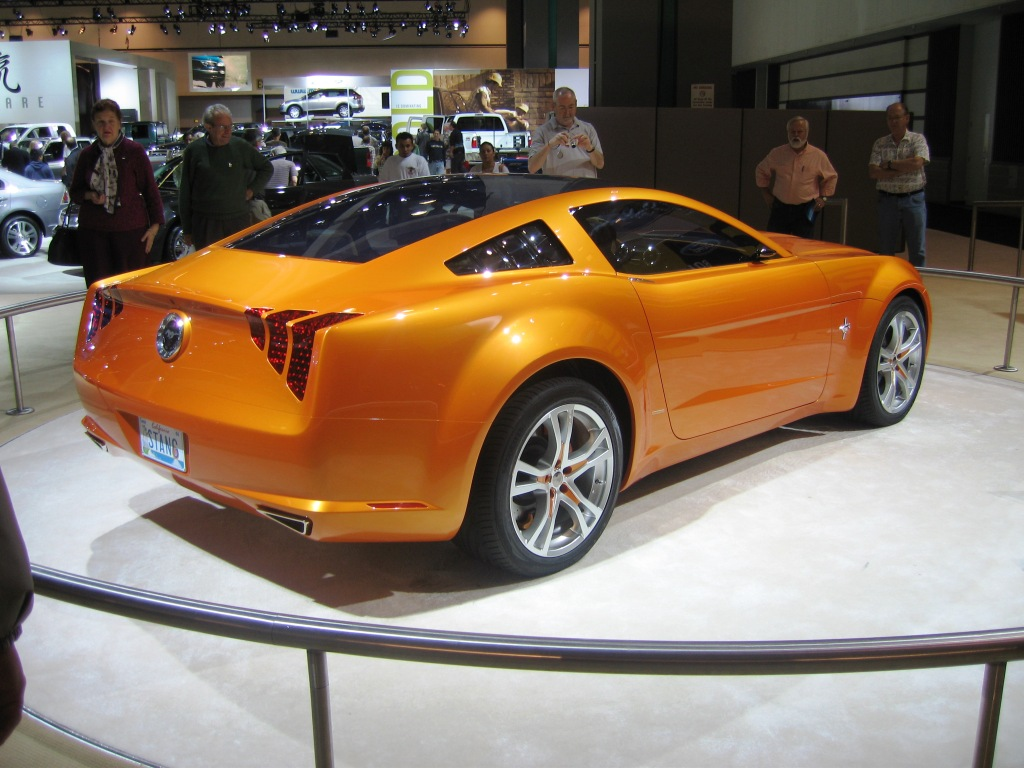 mustang concept car | Mustang, Corvette, Charger, Dodge